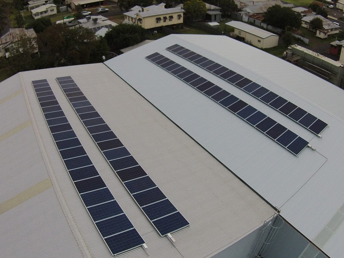 Walsh And Ford Residential Commercial Solar Power Gi Energy Panel Roof