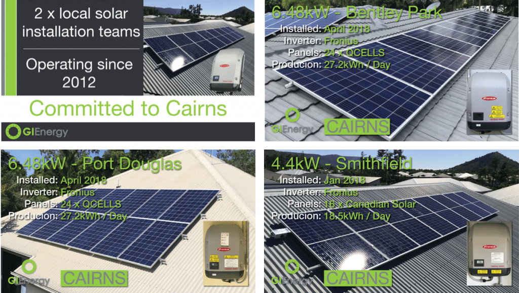 Solar installations Cairns 1