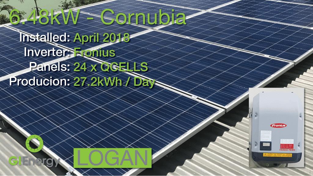 Logan - Cornubia solar installation 2