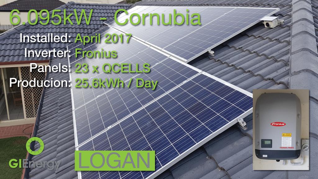 Logan - Cornubia solar installation 1