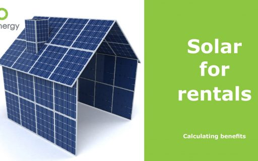 Solar for rentals – calculating benefits