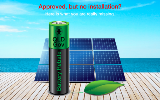 QLD Gov Battery rebate – Are you approved?