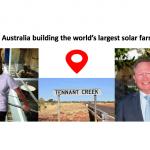 Is Australia building the world's largest solar farm?
