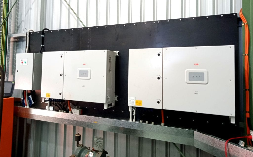 FIMER inverter PVS-50s from one of our installs