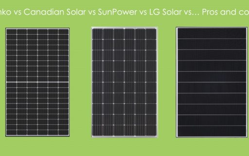 Jinko vs Canadian Solar vs LG Solar vs SunPower vs … Pros and Cons!