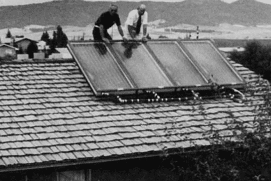 The very first solar array was installed on a New York City rooftop using Fritt's selenium cells.