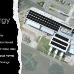Whitsunday's airport solar panels