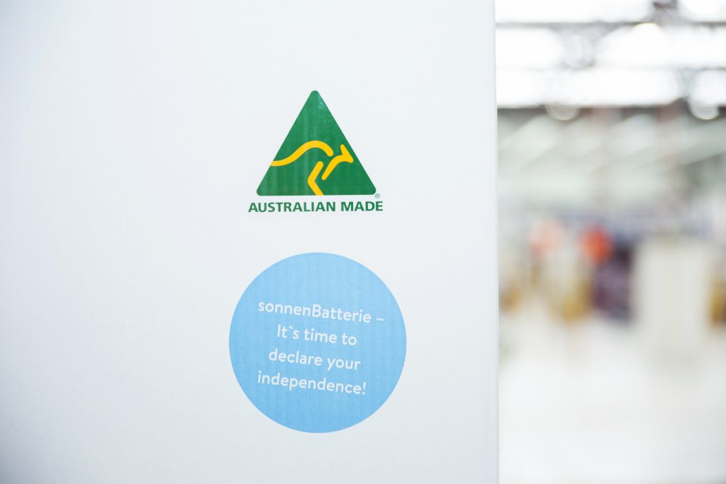 sonnenBatterie is a solar battery made in Australia